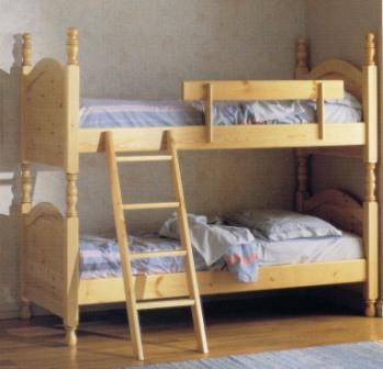 Letto a castello in legno massello sdoppiabile annunci trovalo subito lavoro vendita - Scaletta per letto a castello ...