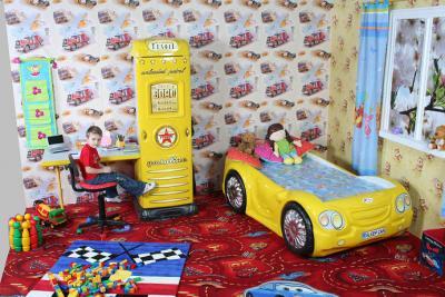 Letto macchina bambino bambini sleep car plastiko tutta - Letto macchina per bambini ...