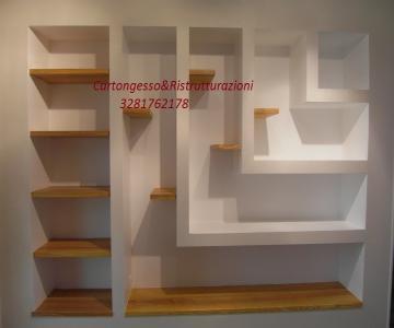 Cartongesso soffitto soggiorno