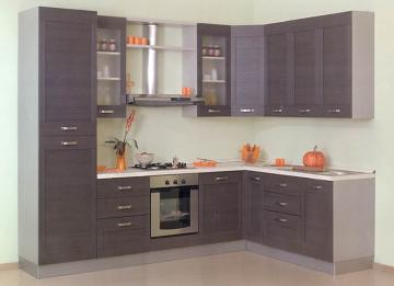 Cucina moderna angolare l301x196 nuova scelta finiture - Cucina 3 metri angolare ...